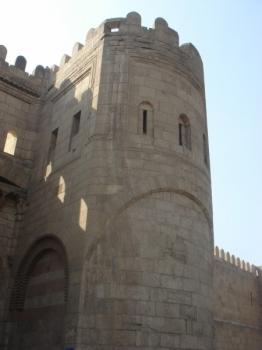 Resultado de imagen de Puerta de Bâb al Futûh (El Cairo) / Bab al-Sharia