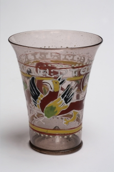 Goblet with griffon decoration